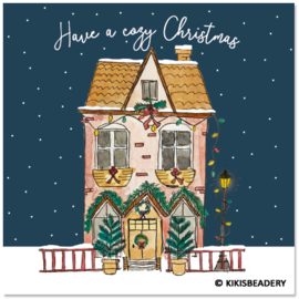Have a cozy Christmas  ansichtkaart