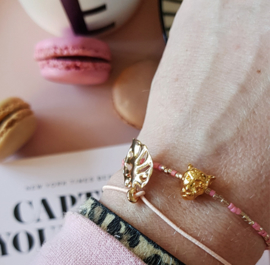 Luipaard miyuki armbandje