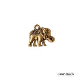 Gouden olifant bedel