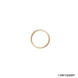 DQ Gouden cirkel 14mm tussenzetsel