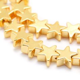 Gouden sterretjes kralen
