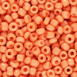 Rocailles 3mm Paradijs  fel oranje