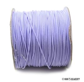1 meter Elastiek violet 1mm