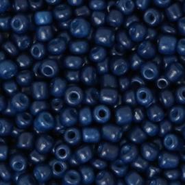 Rocailles 3mm nacht blauw