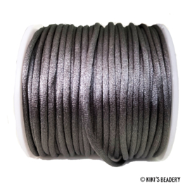 Nylon draad Donkergrijs  2.5mm