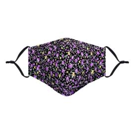 Mondkapje niet medisch bloemenprint 4