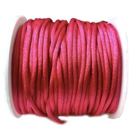 Nylon draad Fuschia 2.5mm