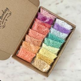 Rainbow rocailles voordeelbox 340 gram