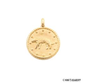 DQ gouden luipaard munt bedel
