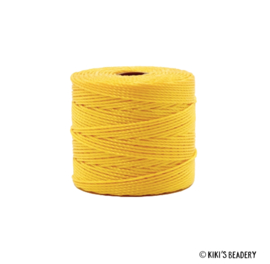 S-lon Nylon draad Ananas Geel  0.6mm