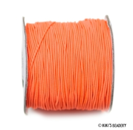 1 meter Elastiek oranje 1mm