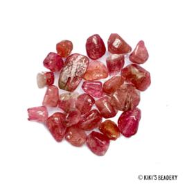Tourmaline edelsteen kralen 5 gram  (ca. 20-25 stuks)
