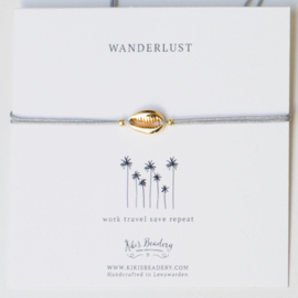 "Wanderlust - ""Work travel save repeat"""