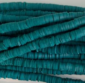 Katsuki kralen donkergroen  4mm ca. 400 stuks (per streng)