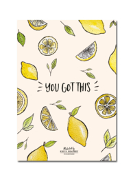 You got this - ansichtkaart A6