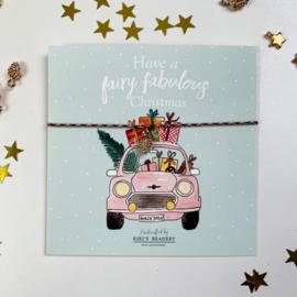 Have a fabulous Christmas - Denneboom armbandje