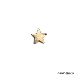 Verguld kralen sterretje goud 5mm