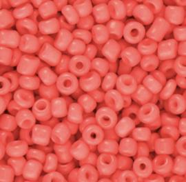 Rocailles 3mm Koraal Rood