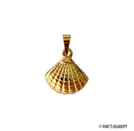 Stainless Steel Gouden schelpen hanger