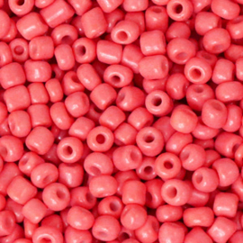 Rocailles 3mm Watermeloen rood