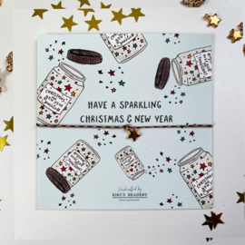 Have a sparkling christmas & New Year - sterretje armbandje