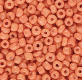 Rocailles 3mm Apricot oranje