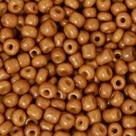 Rocailles 3mm Amandel bruin