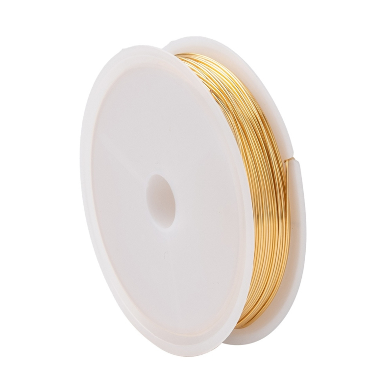 Long-lasting plated copper gold wire