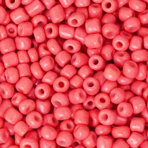 Rocailles 3mm Watermeloen rood