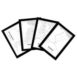 Set 4x plattegrond