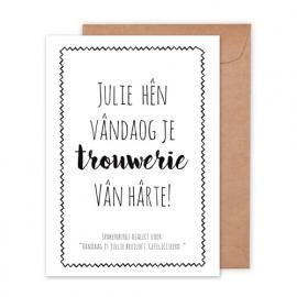 Bruiloft | Trouwerie