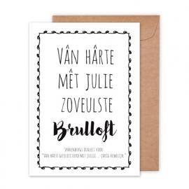 Huwelijk | Brulloft