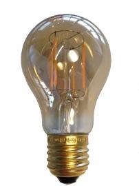 Filament Led A60 E27 Goud extra warm licht