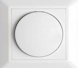 Enkelvoudige knop voor Inbouw Led dimmer
