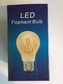 Filament Led A60 E27 Goud
