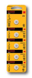 Kodak Max Lithium CR2032 Batterij 3V