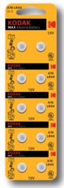 Kodak Alkaline AG13 Batterij 1,5V