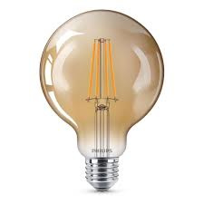 Filament Led Globe 95mm Goud E27 2w