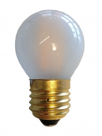 Filament Led Kogel 2w/25w E27 Mat extra warm licht (NIET DIMBAAR)