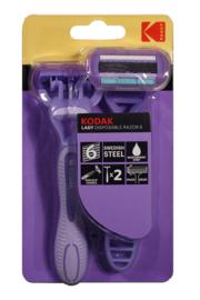 Kodak Disposable Razor Lady 6