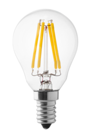 Wiva Filament Led Kogel 4w/40w E14 Helder