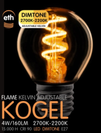 Led kogel lampen E27