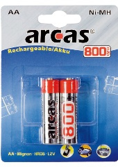 ARCAS Rechargeable AA
