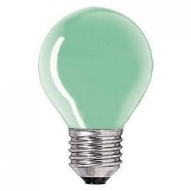 Kogellamp  15 watt E27 groen