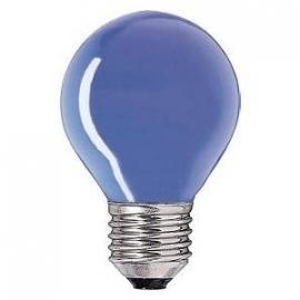 Kogellamp  15 watt E27 blauw