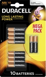 Long Lasting Power Duracell AAA