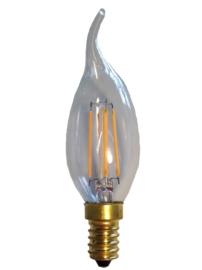Filament Led Tip Kaars 2w/25w E14 Helder