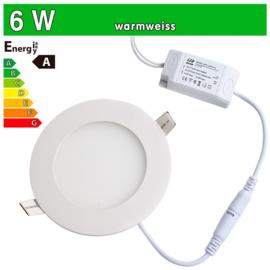 LED Paneel spot inbouw 6w