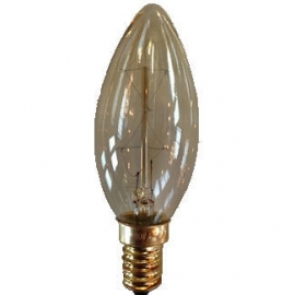 Kooldraadlamp kaars 25 watt E14