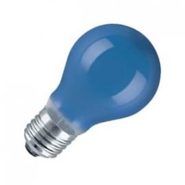 Standaardlamp 15 watt E27 blauw